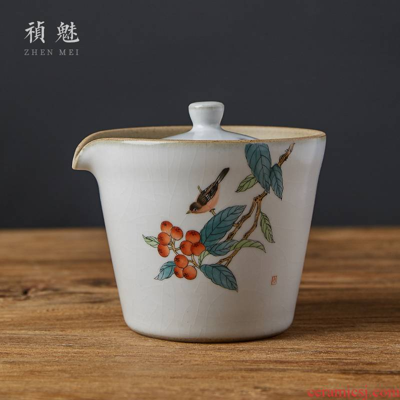 Shot incarnate all hand to open the slice your up tureen jingdezhen ceramic cups crack hand grasp pot of kung fu tea tea bowl