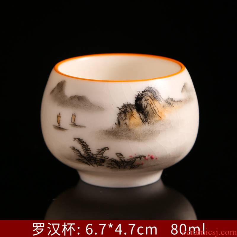 Hand - made which open the slice your up household ceramic cups can keep sample tea cup archaize can have a cup of tea oil - lamp can build master