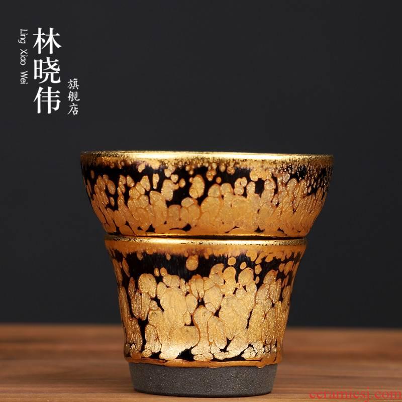 Lin Xiaowei an inset jades built lamp) filter mesh stainless steel ceramic creative kunfu tea tea tea accessories