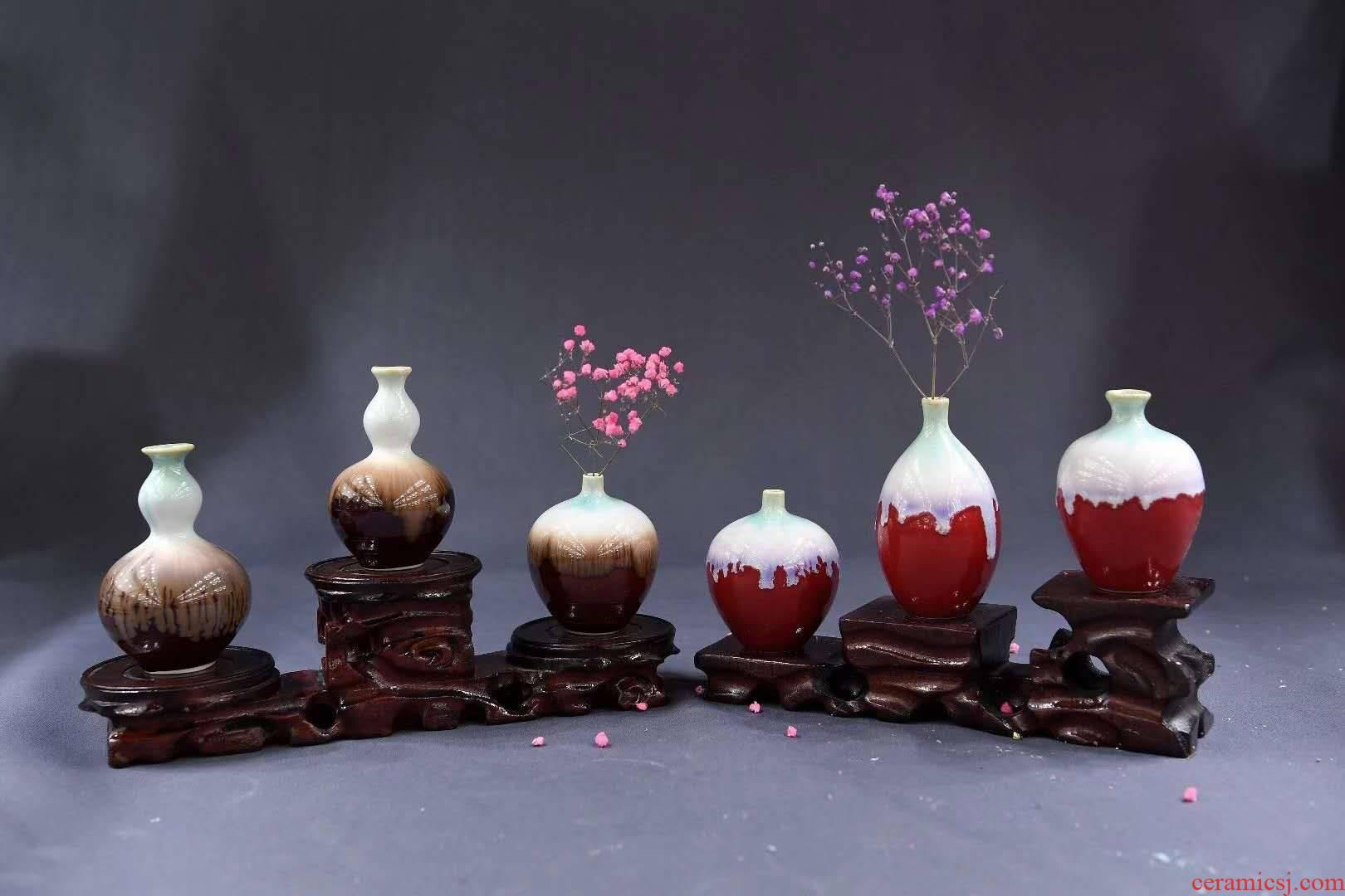 Jingdezhen up floret bottle