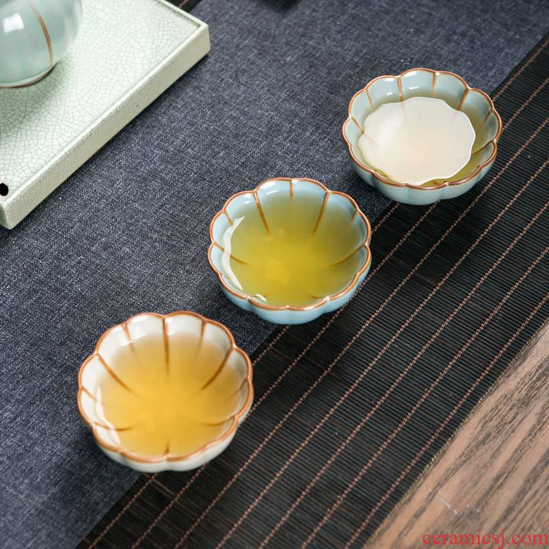 Jingdezhen your up noggin slicing can raise ceramic tea master cup single CPU kung fu tea set your porcelain sample tea cup