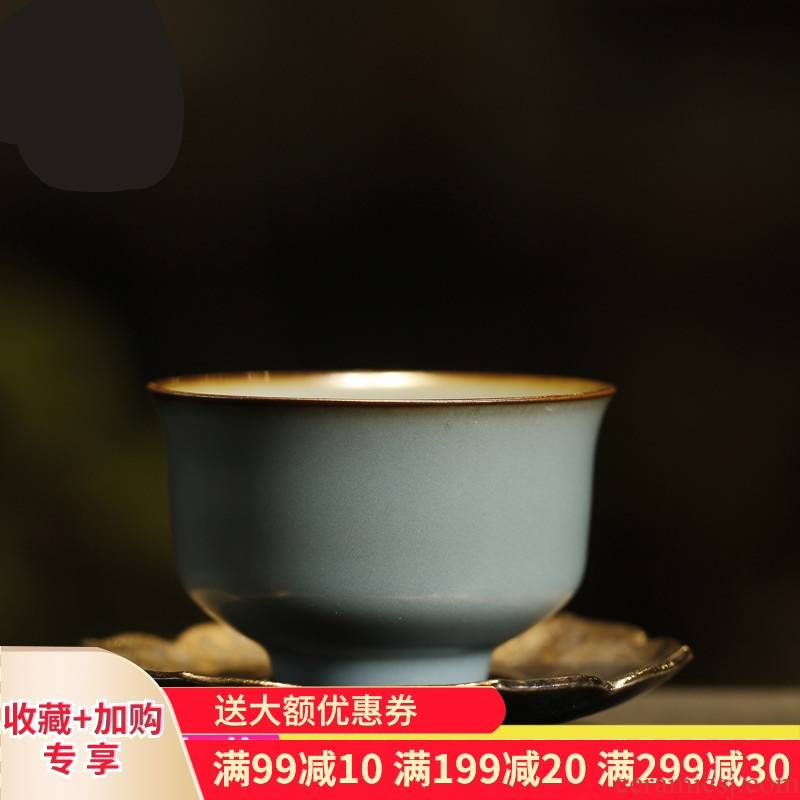 . Poly real boutique scene. Your up glaze sample tea cup of jingdezhen ceramic cups kung fu tea set personal single CPU master CPU
