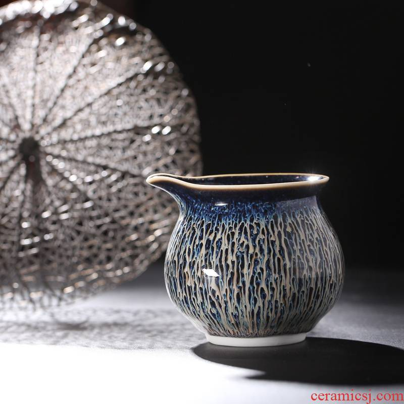 In thousand just a cup of tea sea up the fire tiger orchid red glaze, high temperature of jingdezhen tea service ceramic tea ware