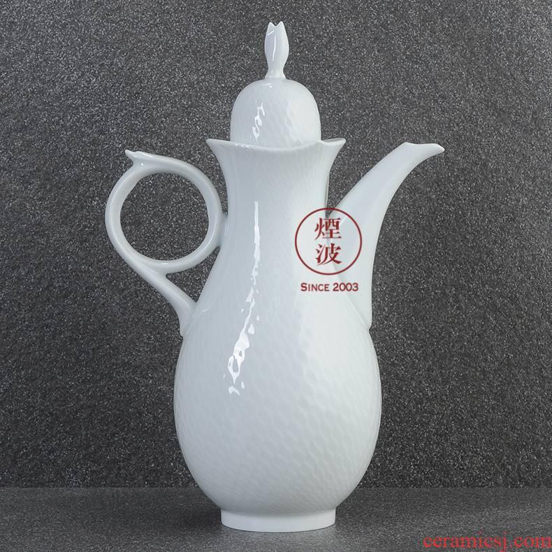 German mason mason meisen porcelain magic wave series of pure European court pot of coffee maker