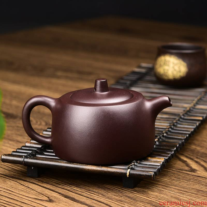 Shadow at yixing it checking kung fu tea set undressed ore well purple clay bar pot teapot 200 cys