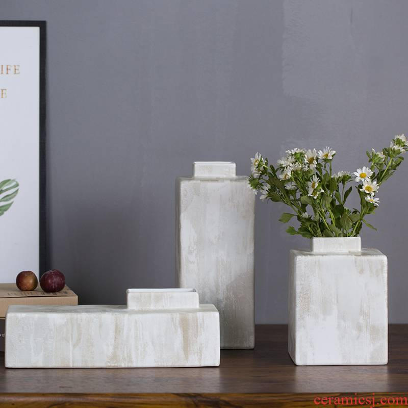 New Chinese style ceramic vases, flower arranging furnishing articles creative wine ark of I sitting room porch flowers, home decoration