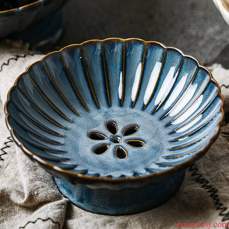 Ceramic household compote of fruit basket snack dumpling dish up with the sitting room is the kitchen the drop drop by tray