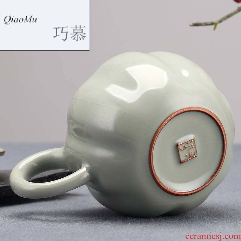Qiao mu measured your up on the teapot can keep Chinese style of jingdezhen ceramic teapot your porcelain household kung fu by hand