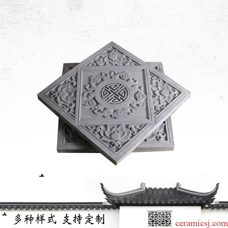 Brick tile floor tile of wall of archaize Brick restoring ancient ways is 400 * 400 wufu hold life of background culture stone wall buildings has had gloriously enrolled