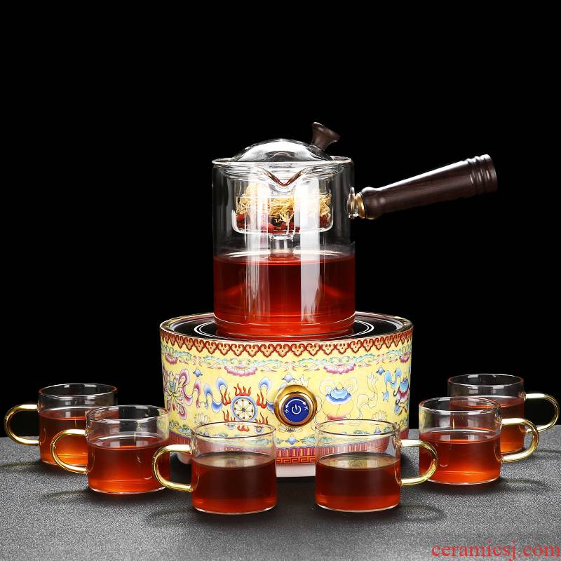 TaoLu RenXin electricity boiling tea ware home full glass teapot tea steamer to cook tea stove teapot home to burn a kettle