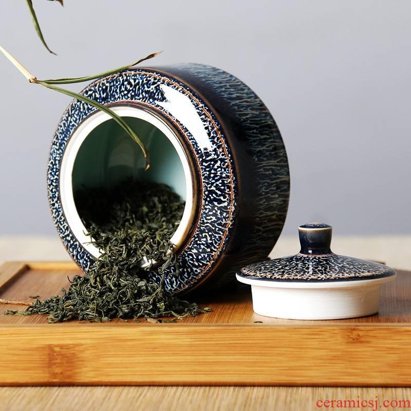 One thousand fire jingdezhen ceramic tea pot home portable medium variable glaze red glaze, storage tanks seal