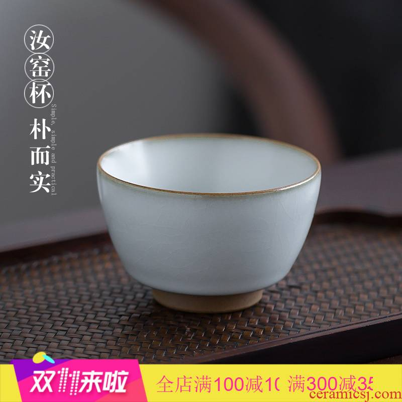 Poly real view jingdezhen your up cup can keep the master cup single CPU ceramic checking sample tea cup open tea tea set