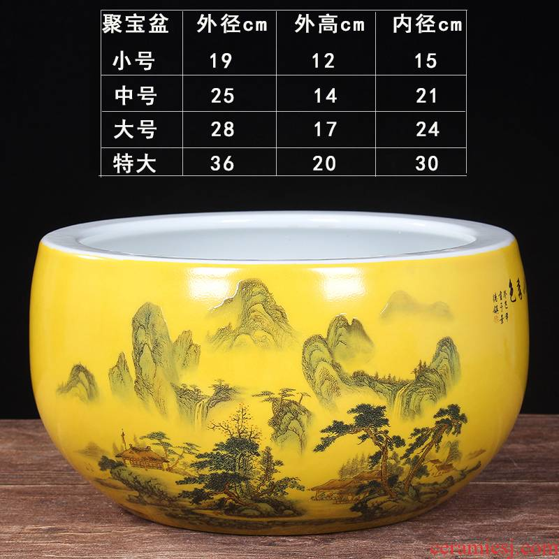 Money to embellish the cornucopia furnishing articles in plutus jingdezhen ceramics sitting room porch household decoration is a thriving business