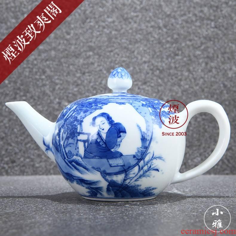 Jingdezhen made yanzhao ancient jun lesser RuanDingRong wind more lesser teapot CiHu collection model