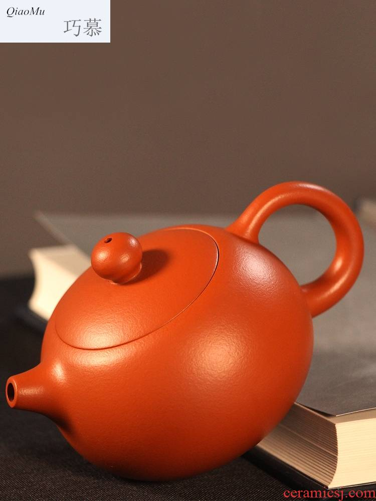 Qiao mu it xi shi pot of tea set manually zhu mud are it home teapot
