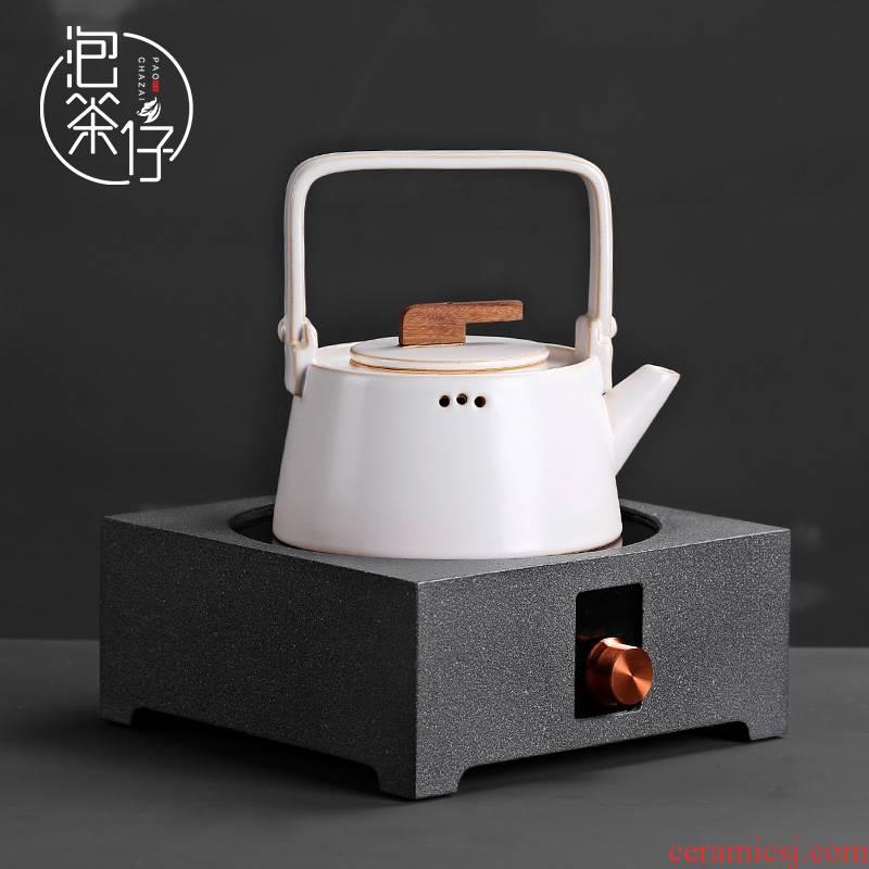 Kung fu tea tea sets electric TaoLu kettle boil tea tea stove small quiet household steaming tea boiling tea stove
