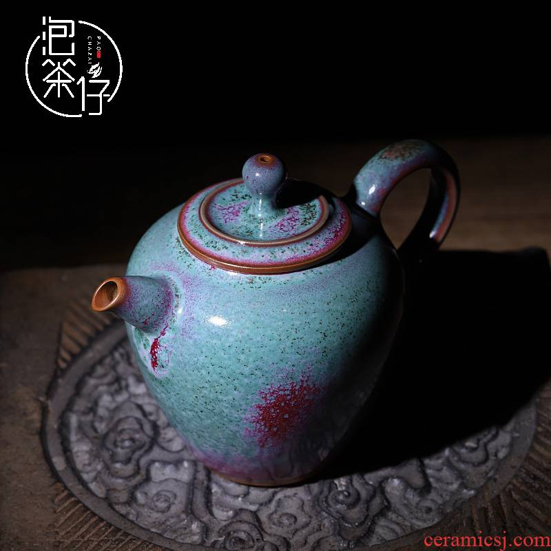 MiaoXingWei tea filter masterpieces kunfu tea tea ceramic teapot individual household single pot of small Chinese manual