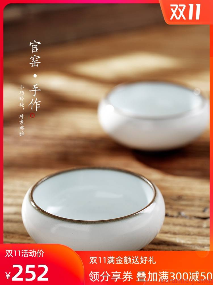 Your High - end up up master cup single CPU on a cup of pure manual jingdezhen ceramic sample tea cup small kung fu tea cups