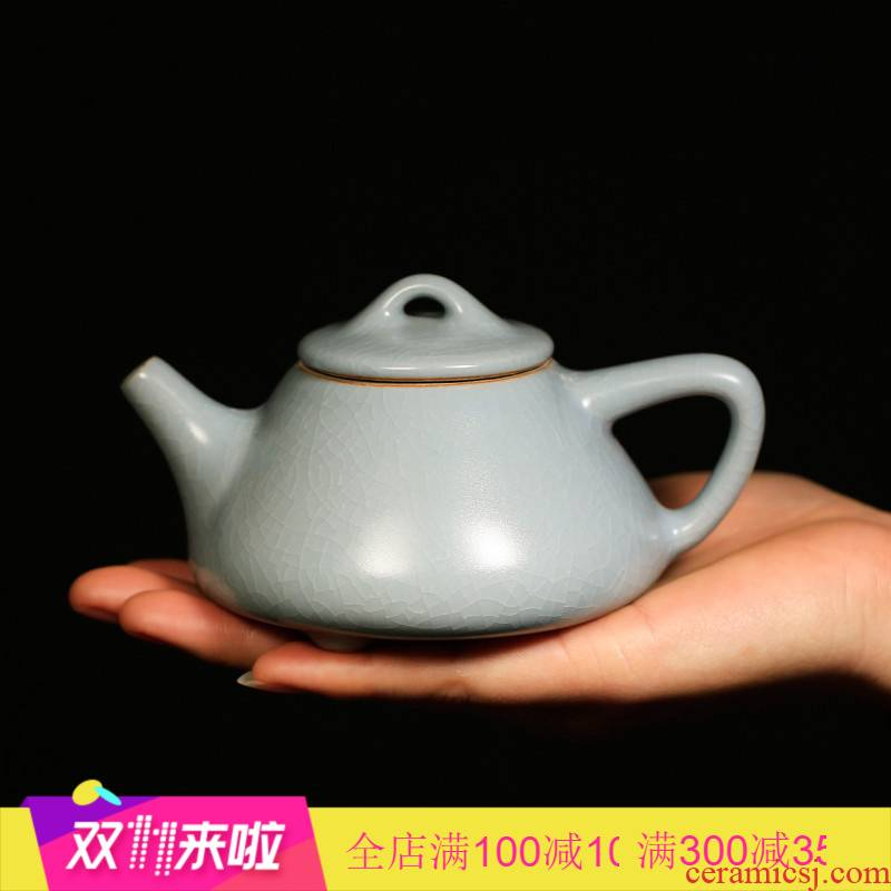The Poly real boutique scene. Your up stone gourd ladle slicing can support his family with a single pot of jingdezhen ceramic teapot tea teapot