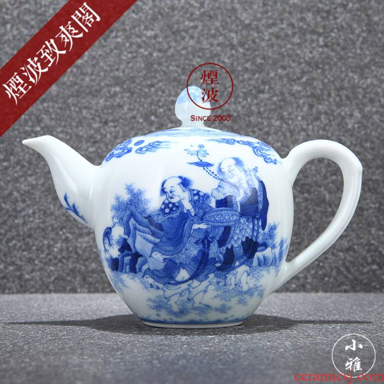 Jingdezhen ancient jun made the anakims; Roll lesser RuanDingRong autumn cloud to city lesser CiHu teapot