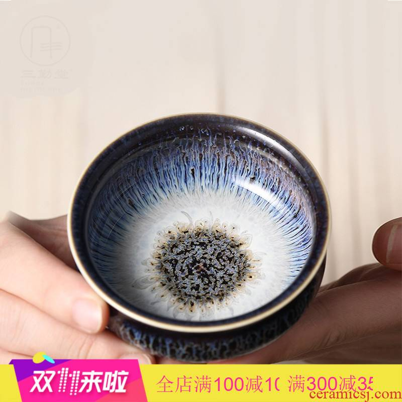 . Poly real boutique scene. The Variable master cup single cup of jingdezhen ceramic cups kung fu tea tea sets, small sample tea cup