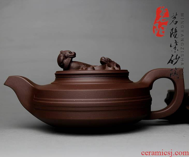 Shadow enjoy authentic yixing all it hand craft masters boutique teapot kung fu tea set, the MY face