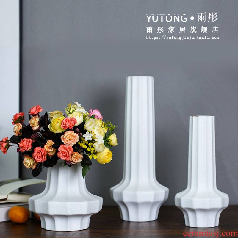 New Chinese style ceramic furnishing articles light key-2 luxury hotel TV ark, example room under the sitting room what pottery tea table decorations