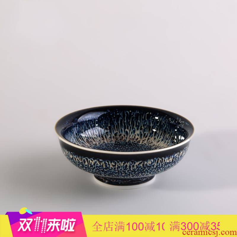 The Poly real boutique scene master cup single cup small jingdezhen ceramic cups kung fu tea set variable sample tea cup