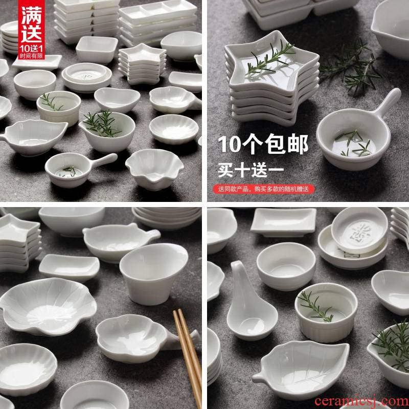 Small dishes dip creative household ceramics vomit ipads plate adjustment to taste sweet dishes snacks, Small plate pickling plate