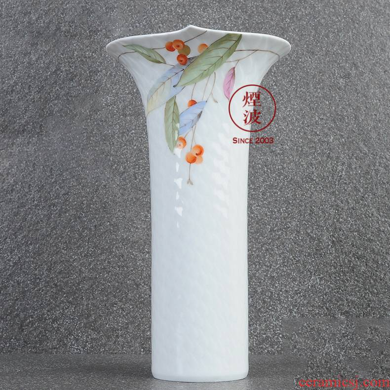 German mason mason meisen porcelain magic wave golden raspberries decorative vase home furnishing articles 190 mm