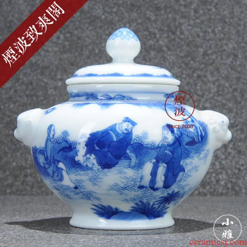 Those jingdezhen lesser RuanDingRong made lesser rarities coats talk beast ear caddy fixings