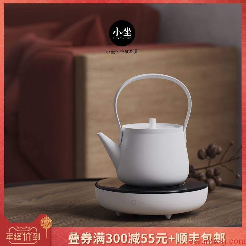 Small sit know furnace Small household contracted ultra - thin.mute the electric TaoLu boiled tea, the electric iron pot of tea stove silver pot, kettle