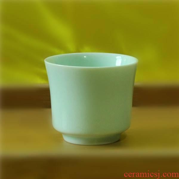 Qiao mu 70 ml glass celadon liquor cup a shot glass koubei creative household glass ceramic cup