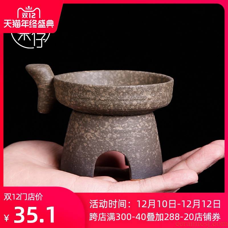 Japanese coarse pottery kung fu tea accessories filter good) tea tea exchanger with the ceramics filter creative move