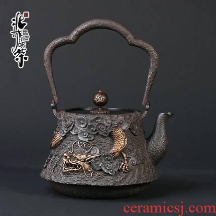 Iron Iron pot of cast Iron tea pot, kettle pot electricity TaoLu teapot household Iron pot of tea, no coating