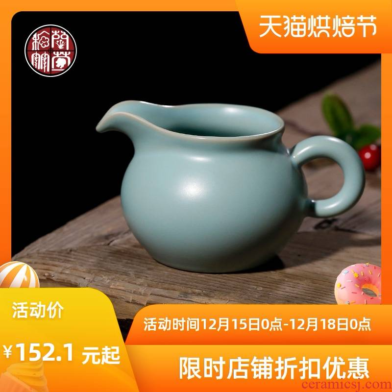 By patterns, small fat your up just a cup of tea ware sky blue tea set a single and a cup of tea ware ceramic points home