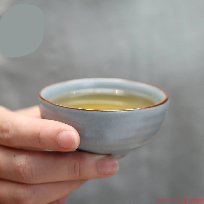 . Poly real boutique scene. Your up with jingdezhen ceramic cups sample tea cup master of kung fu tea set personal single CPU