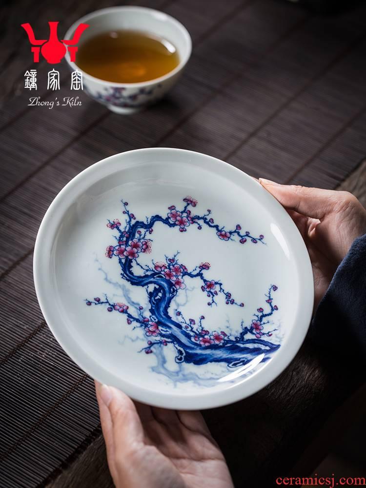 Home bearing dry up pot mercifully jingdezhen porcelain maintain color maker adopt ceramic pot bearing are it kung fu tea set