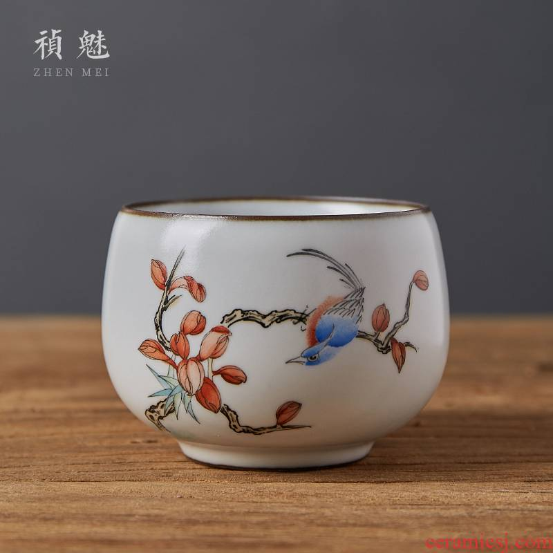 Shot incarnate all hand your up and meditation of jingdezhen ceramic kung fu tea set sample tea cup master cup single CPU