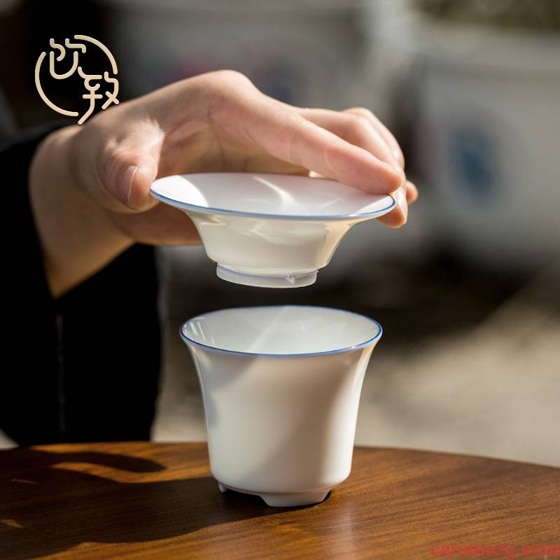 Hot drinks to ceramic tea filter creative) with the tap filter cup and cup of tea every kung fu tea accessories