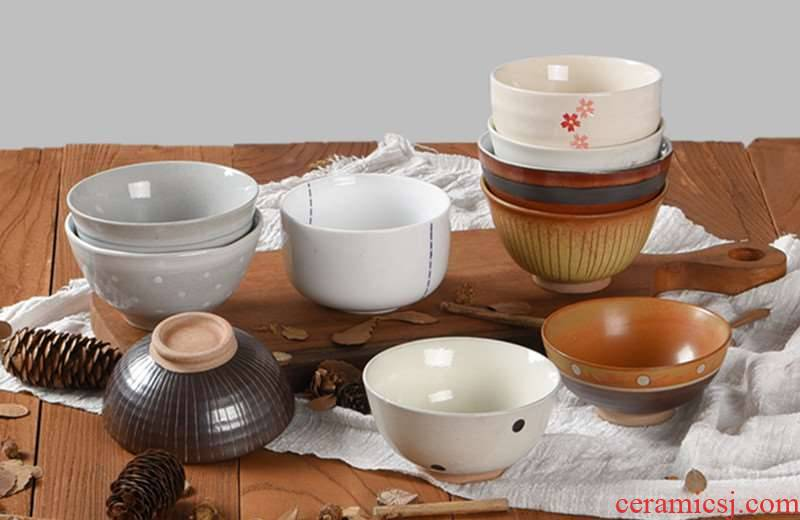 Japanese Chinese tableware, black restore ancient ways to eat a small bowl of household ceramic bowl of soup bowl hotel meal bowl of rice bowls
