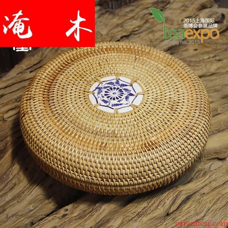 Submerged wood selection in the fall of the cane ceramics single cake box of puer tea packaging gift boxes receive a case size