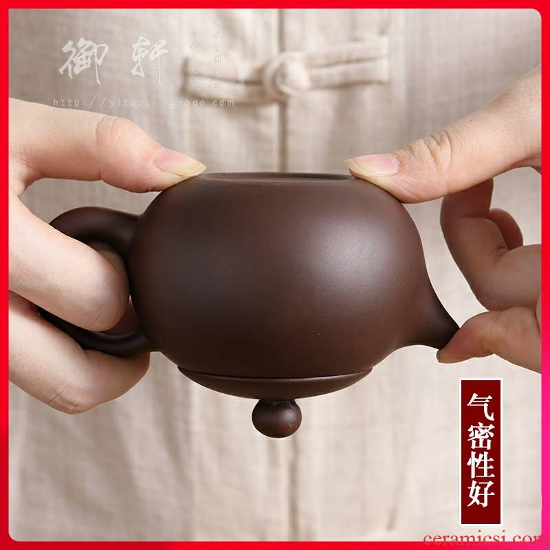Package mail it yixing authentic profiteering xi shi pot famous clearance all hand hand ball hole, tea pot of the teapot
