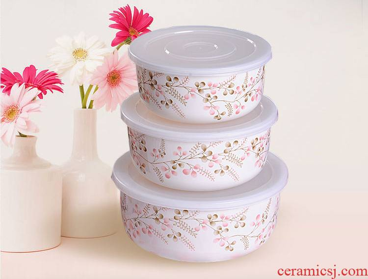 5 and the A5 food melamine tableware with peach blossom put preservation bowl lunch box Korean tureen imitation porcelain tableware classification