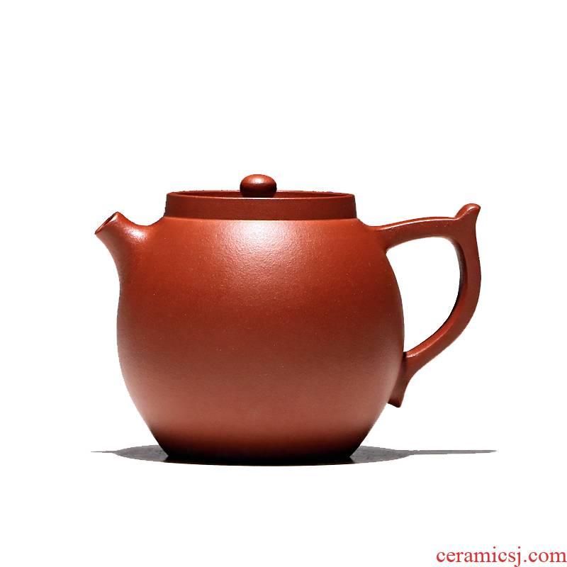 Yixing famous TaoJianChun all hand shadow enjoy 】 【 it teapot zhu mud and generative high 210 cc