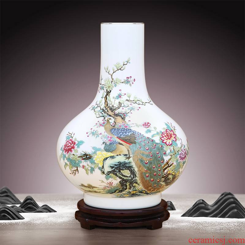To high ceramics powder enamel porcelain white thin body paint figure flat belly bottle expressions using spring fang