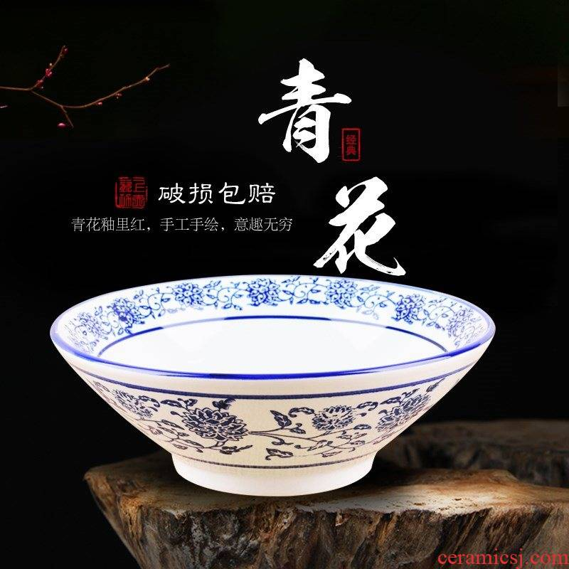 Ltd. household rainbow such use ceramic hat to bowl of lanzhou beef such as restoring ancient ways is a large bowl of noodles museum dedicated to use restaurant
