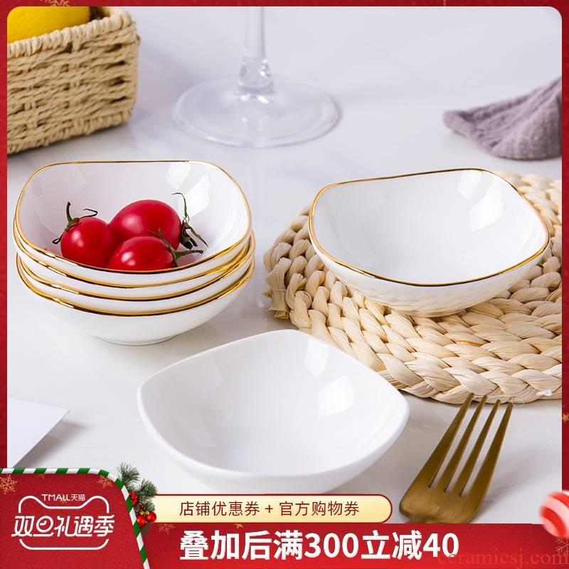 Ipads China household ceramics tableware flavour up phnom penh dish seasoning sauce vinegar pickled snack dish dish vinegar dip the dish of soy sauce dish