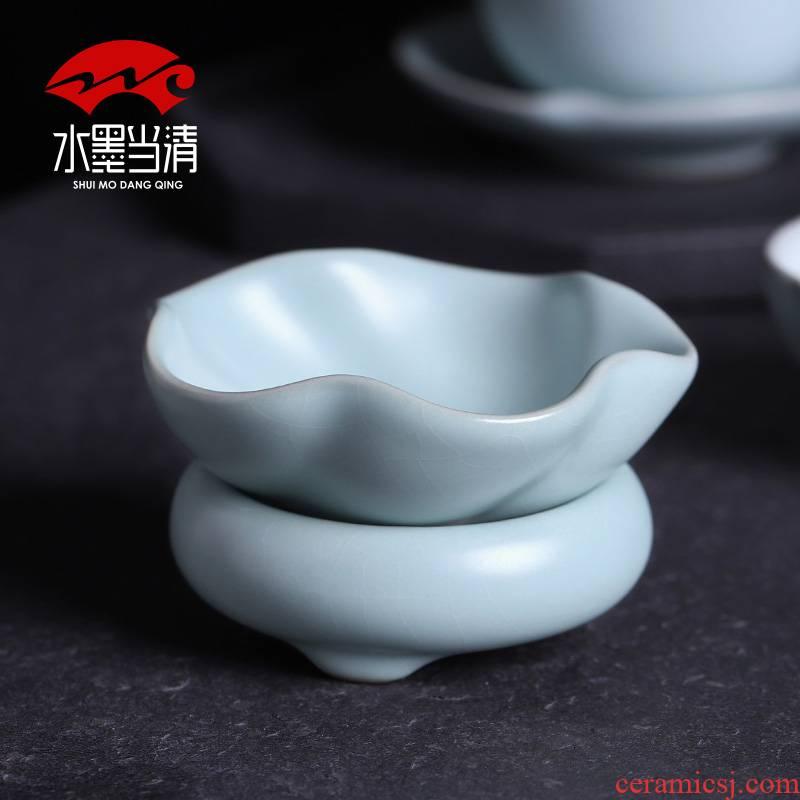 Your up small creative every tea strainer filter) tea tea tea accessories, ultrafine ceramic filter gauze
