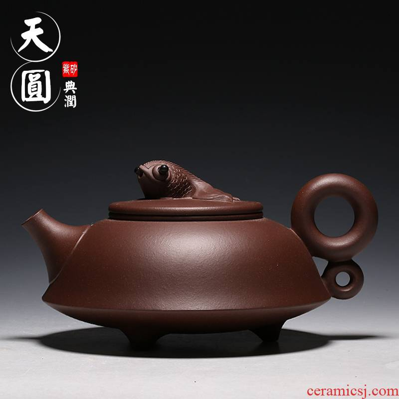 """Shadow"" enjoy it ""yixing authentic violet arenaceous kettle kung fu suit is wining tea TYDR every year"